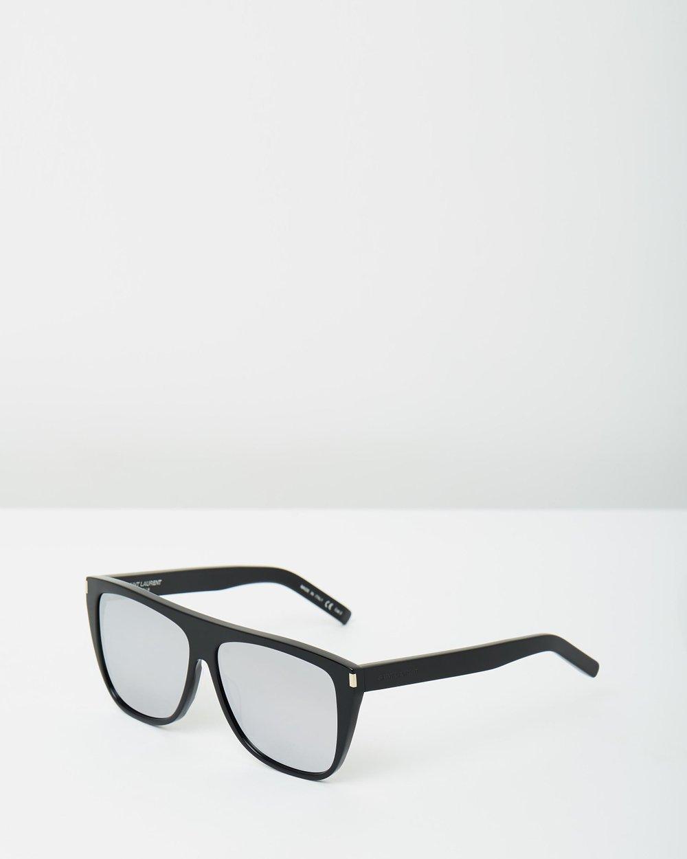 7e897740e7 Mirrored Flat Top Sunglasses by Saint Laurent Online