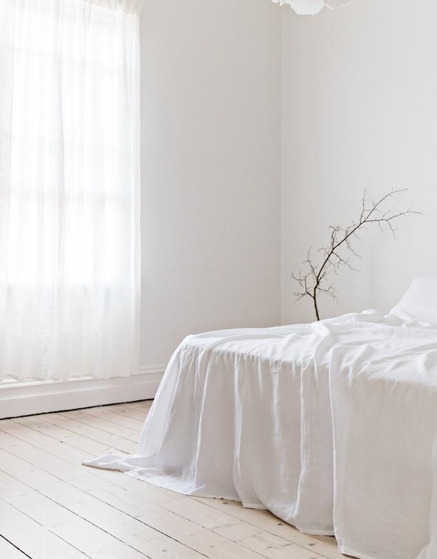 Life Flat Sheet - White