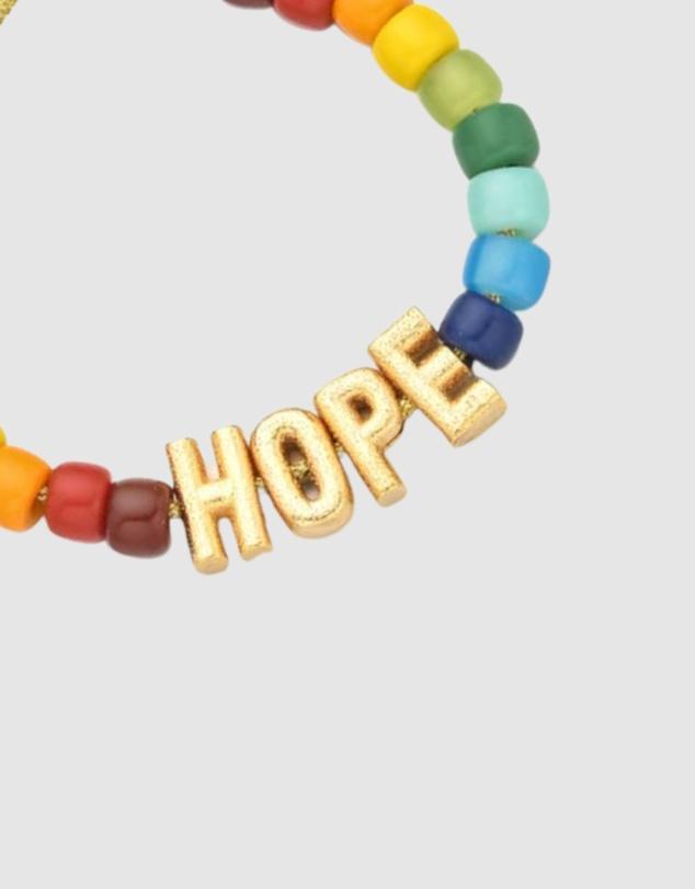 Women Hope Beaded Bracelet