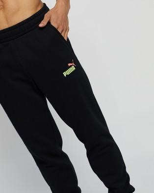 Puma Essential Logo Fleece Pants - Sweatpants (Puma Black)