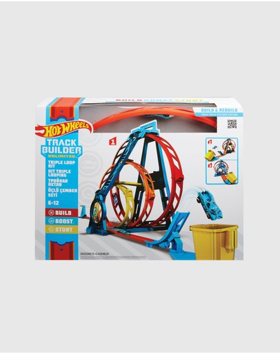 Hot Wheels - Hot Wheels Track Builder Unlimited Triple Loop Kit
