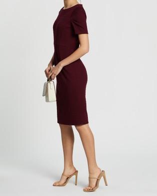 David Lawrence Kamila Pencil Dress - Dresses (MULBERRY)