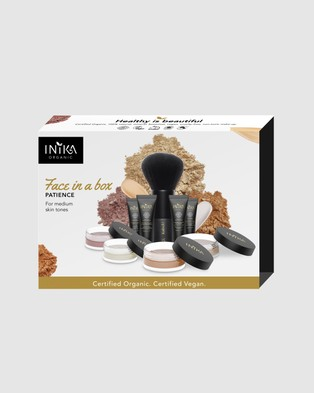 Inika Organic Face in a Box Starter Kit   Patience - Beauty (NFIAB03)