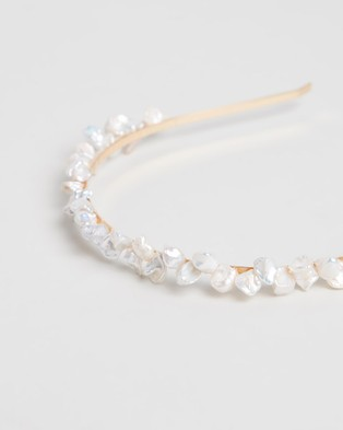Amber Sceats Madison Headband Hair Accessories Pearl