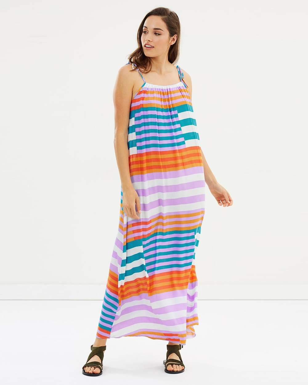 Rusty Cabana Maxi Dress Swimwear Multi Cabana Maxi Dress