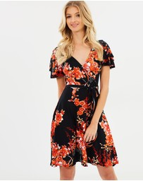Dorothy Perkins - Oriental Wrap Dress