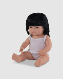 Miniland - Anatomically Correct Baby Doll Asian Girl