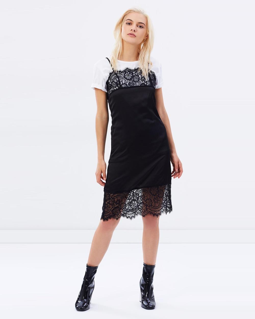 Dahli Dangerously In Love Midi Dress Dresses Black Dangerously In Love Midi Dress