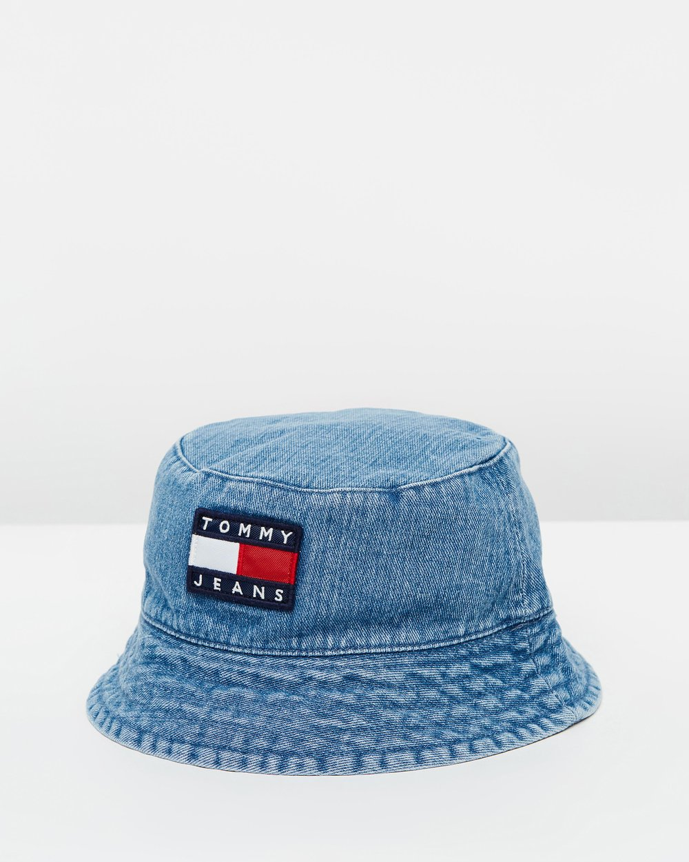 90s Sailing Denim Bucket Hat by Tommy Jeans Online  699a74996351