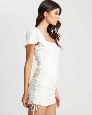 Savel Odette Mini Dress - Dresses (White)