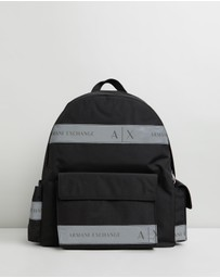 Armani Exchange - Logo Tape Backpack