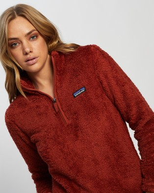 Patagonia Los Gatos 1 4 Zip - Sweats (Burnished Red)