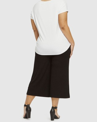 Bamboo Body Bamboo Culottes - Bloomers (Black)
