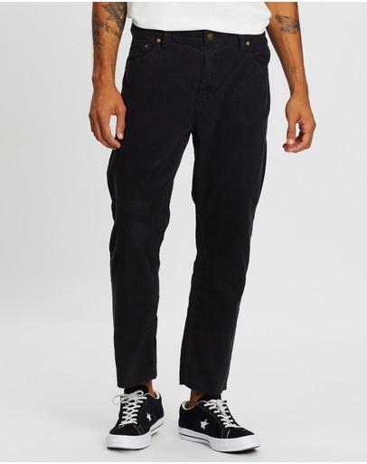 Rolla's Relaxo Chop Cord Pants Black