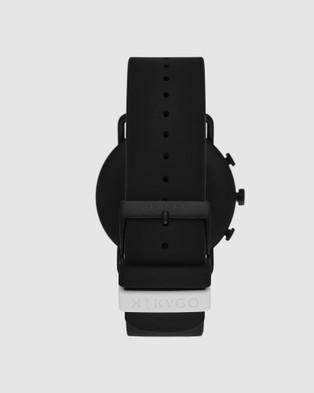 Skagen Falster 3 Black Smartwatch - Smart Watches (Black)
