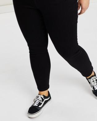 Volcom Liberator High Rise Jeans - Jeans (Black)