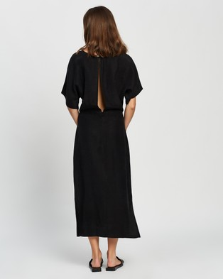 Assembly Label Ivy Kimono Sleeves Dress - Dresses (Black)