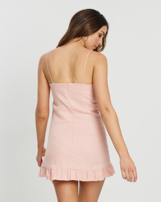White By FTL Ebony Dress - Dresses (Peach)