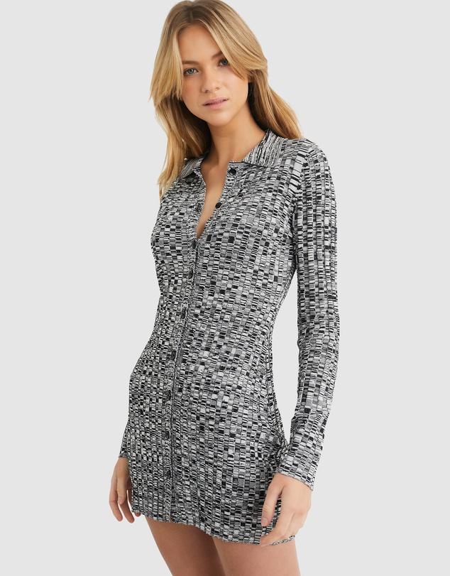 Women Sami Knit Polo Dress