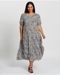 Atmos&Here Curvy - Oliver Midi Dress