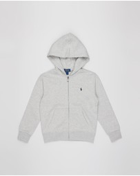 Polo Ralph Lauren - Double-Knit Full-Zip Hoodie - Kids