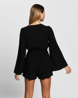 Atmos&Here Harmony Playsuit - Jumpsuits & Playsuits (Black)