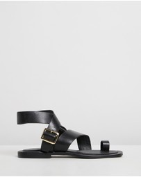 Atmos&Here - Carina Leather Sandals