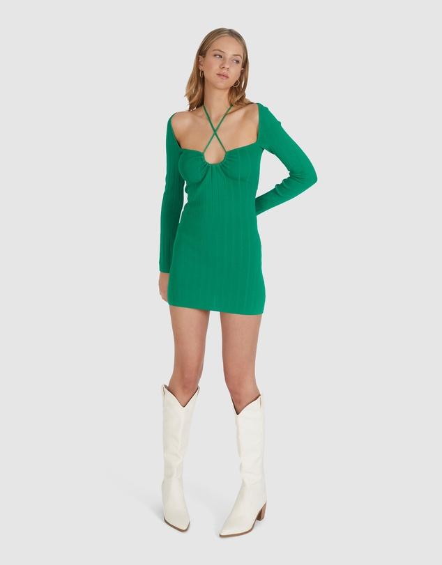 Women Rhodes Longsleeve Dress