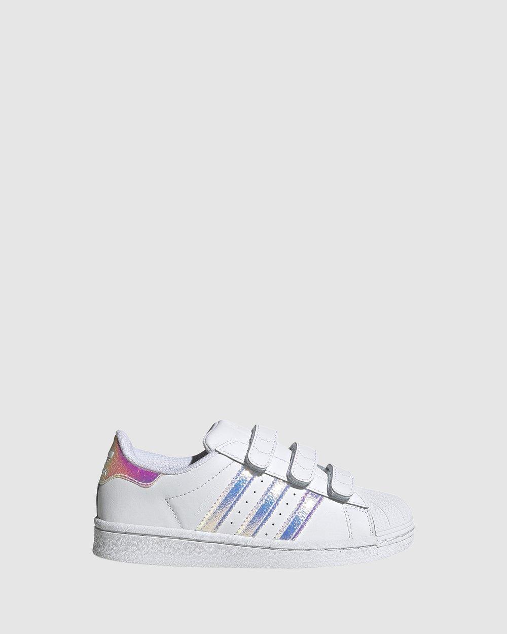 Desesperado Cambio oportunidad  Superstar Foundation Strap Pre School by adidas Originals Online   Gov    Australia