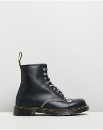 Dr Martens - Unisex 1460 CBGB X OMFUG Boots