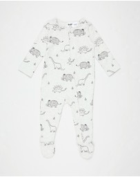 Cotton On Baby - The Long Sleeve Zip Romper - Babies