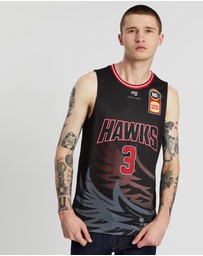 First Ever - NBL - Illawarra Hawks 19/20 Authentic Home Jersey - Josh Boone