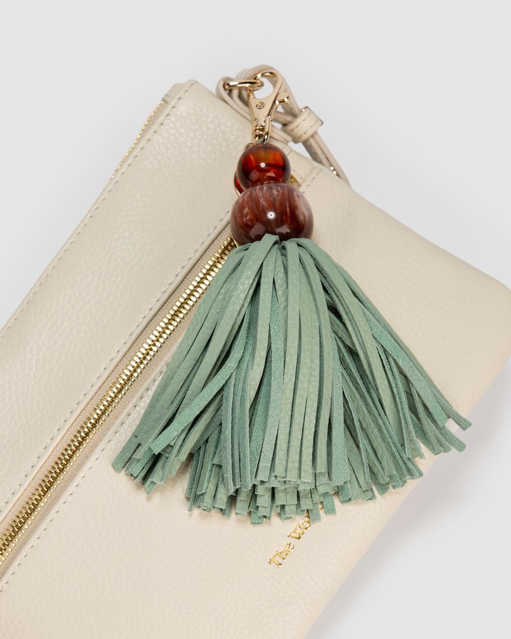 The Wolf Gang Magdala Crossbody Bag Handbags White