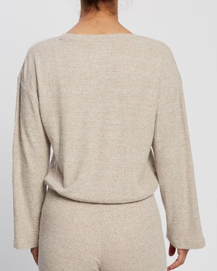 All Fenix Leo Sweater - Jumpers & Cardigans (Taupe)