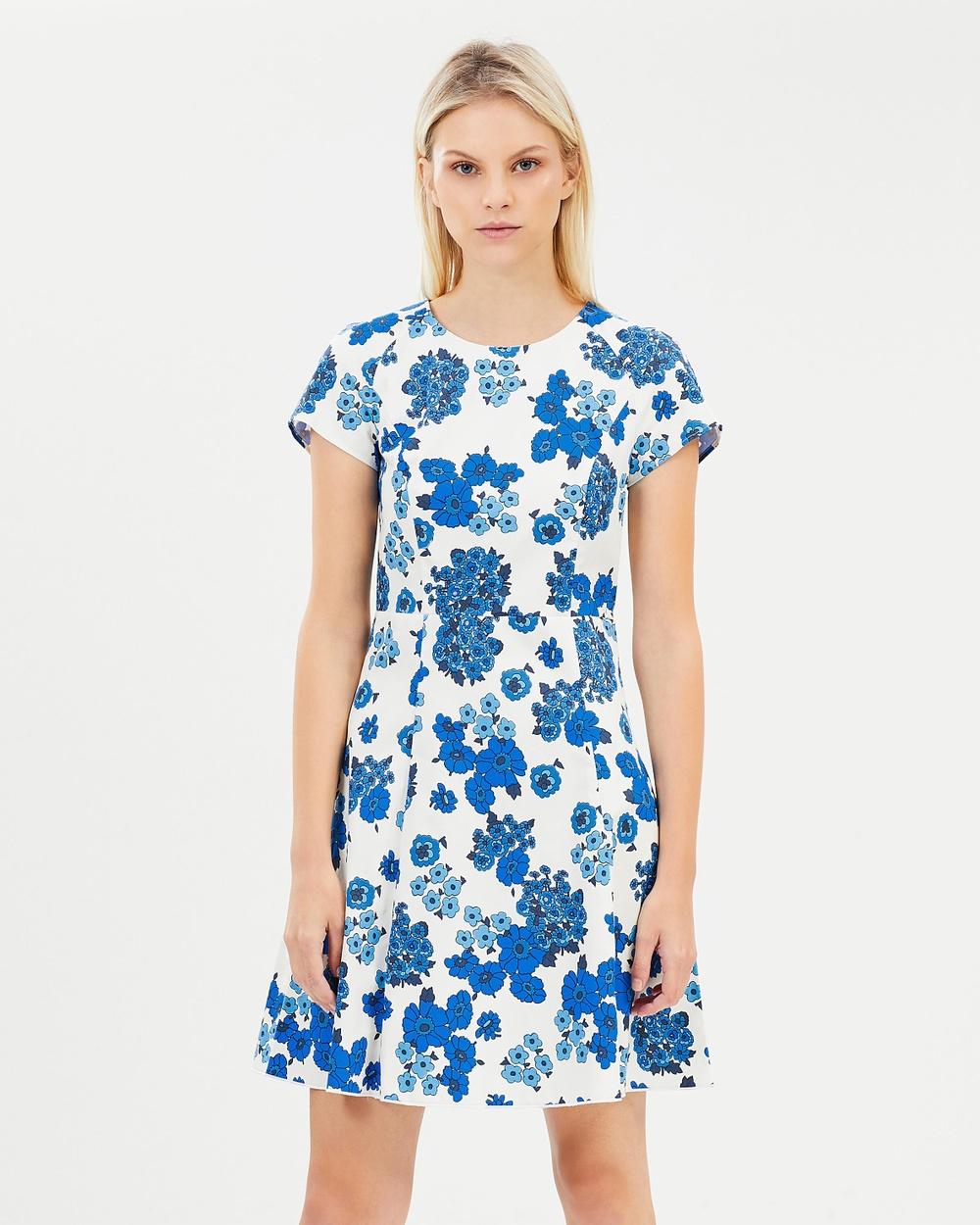 MAX & Co. Desto Dress Printed Dresses Ivory Pattern Desto Dress