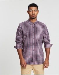 Staple Superior - Solwood Long Sleeve Check Shirt