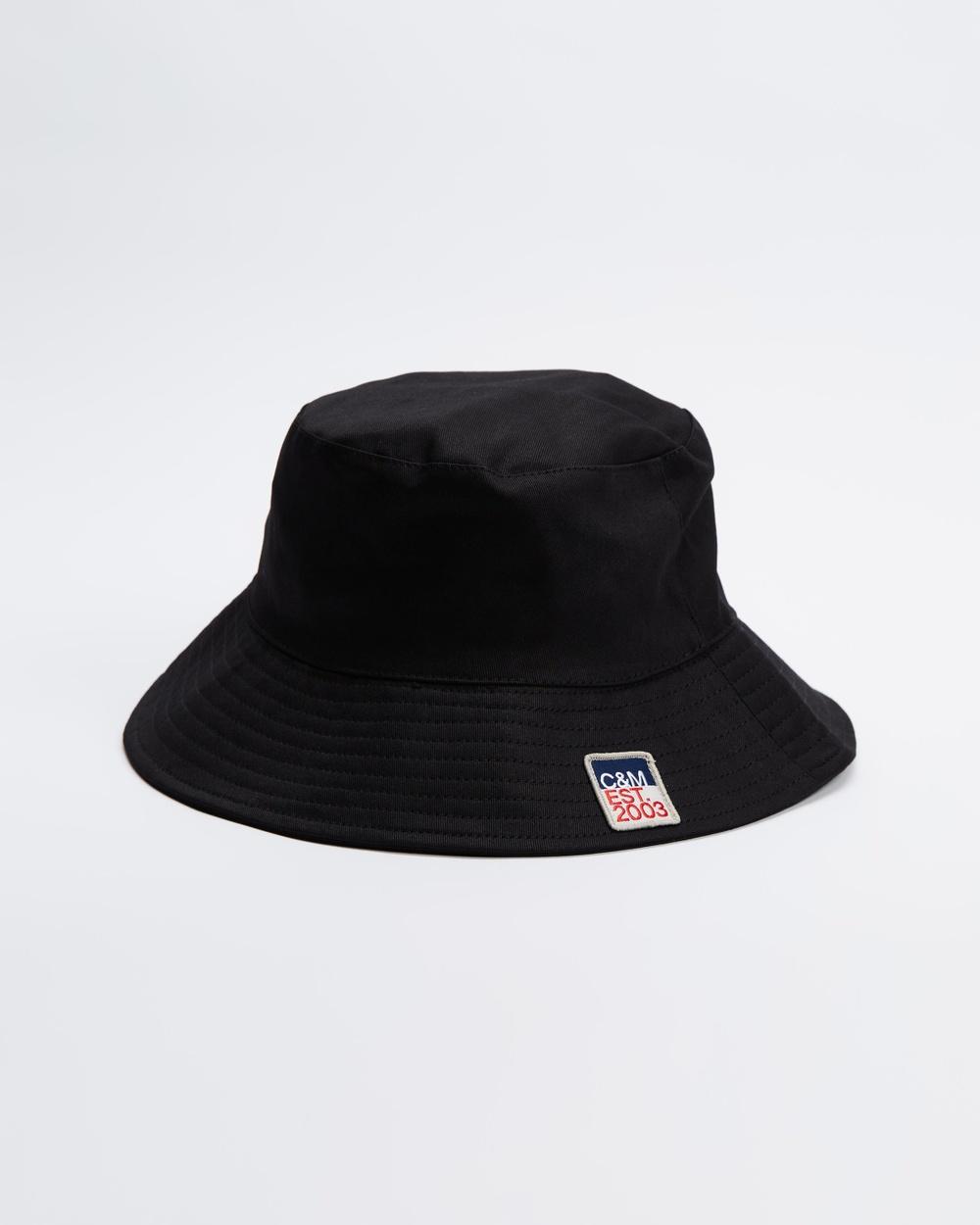 C&M CAMILLA AND MARC Evans Bucket Cap Hats Black