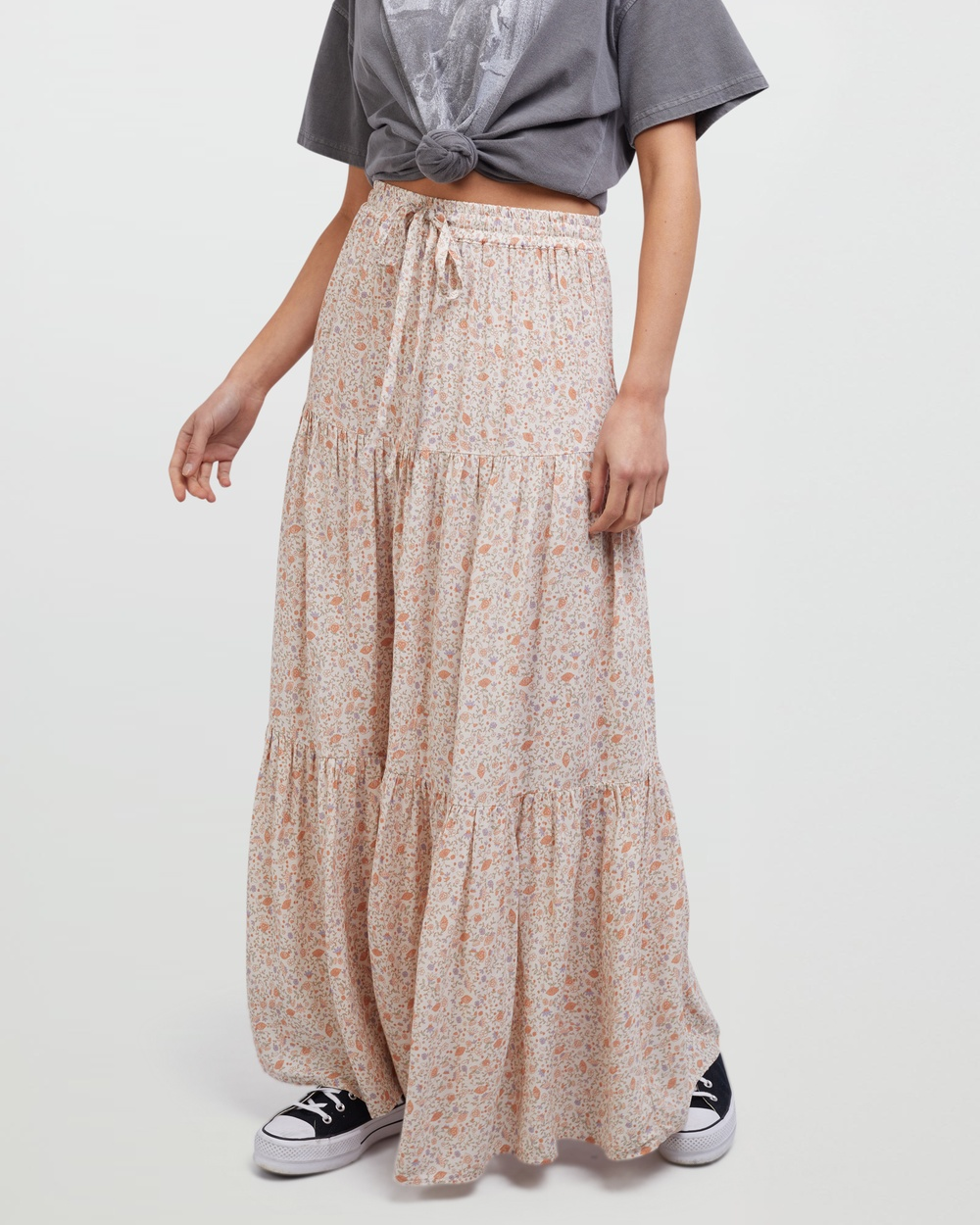 All About Eve Ivy Maxi Skirt Skirts Multicoloured