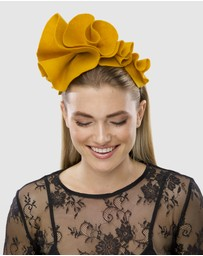 Ford Millinery - Poppy Fascinator