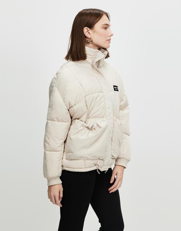 Women Utility Puffer Jacket