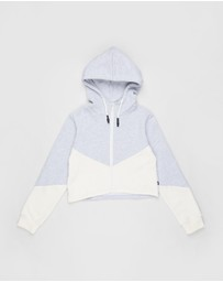 Free by Cotton On - Zip-Through Hooded Fleece - Teens