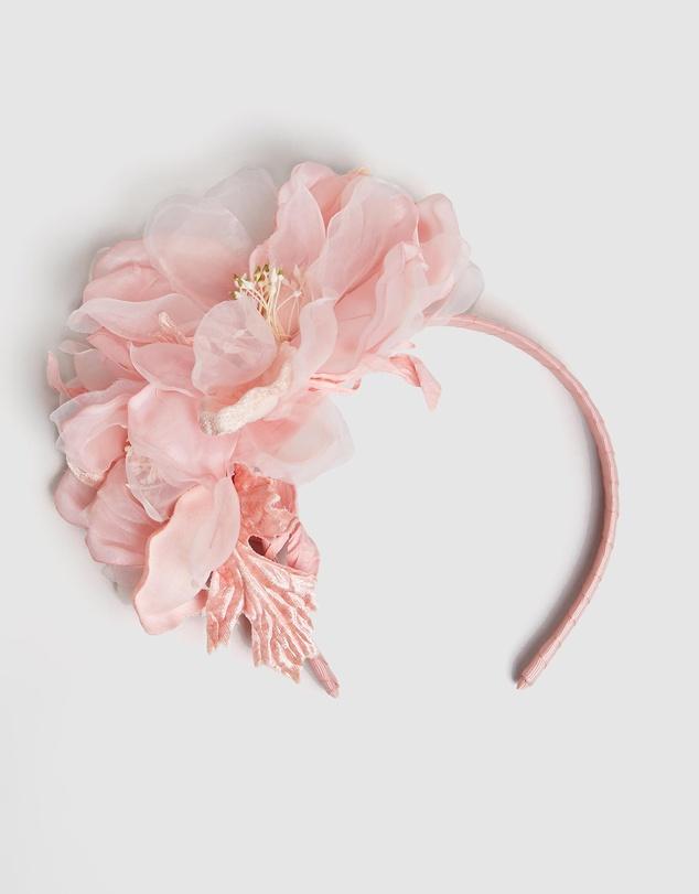 Women Large Flowers Headband