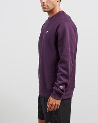 Champion - Reverse Weave Crew Necks (Purple Pebble)