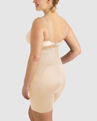 Miraclesuit Shapewear Adjust Fit Hi Waist Thigh Slimmer PLUS - Lingerie (Nude)