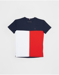 Tommy Hilfiger - Hilfiger Colour-Block SS Tee - Kids