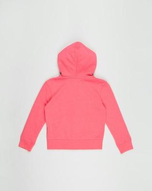 GapKids Arch Logo Hoodie   Teens - Hoodies (Pink Jubilee Nylon)