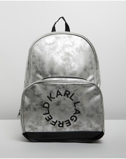 Karl Lagerfeld - Karl Round Logo Backpack - Kids