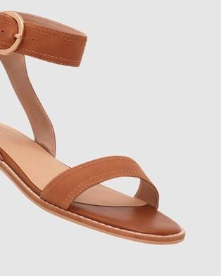 Nude Athena - Sandals (Rich Tan Nubuck)