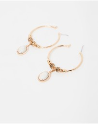 SAMANTHA WILLS - Moonshadow Hoop Earrings