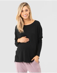 Bamboo Body - Liv Long Sleeve Slouch Top